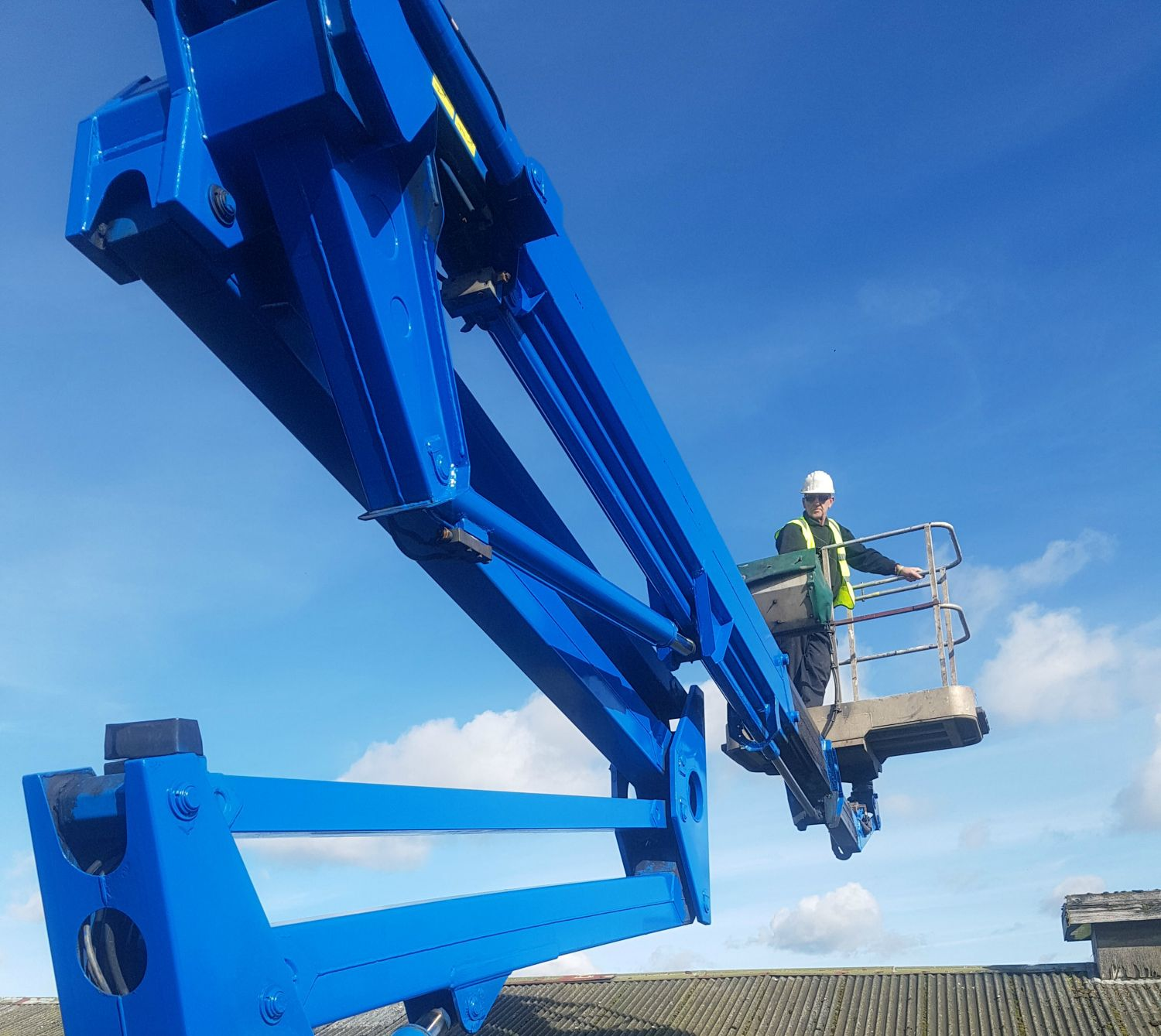 Train cherry picker hire with operatives Manchester, Wigan, Warrington